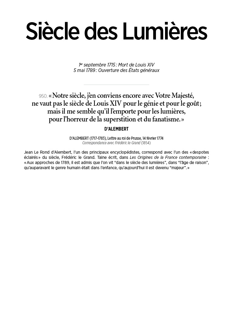 L'Histoire en citations - volume 4 - 4/20