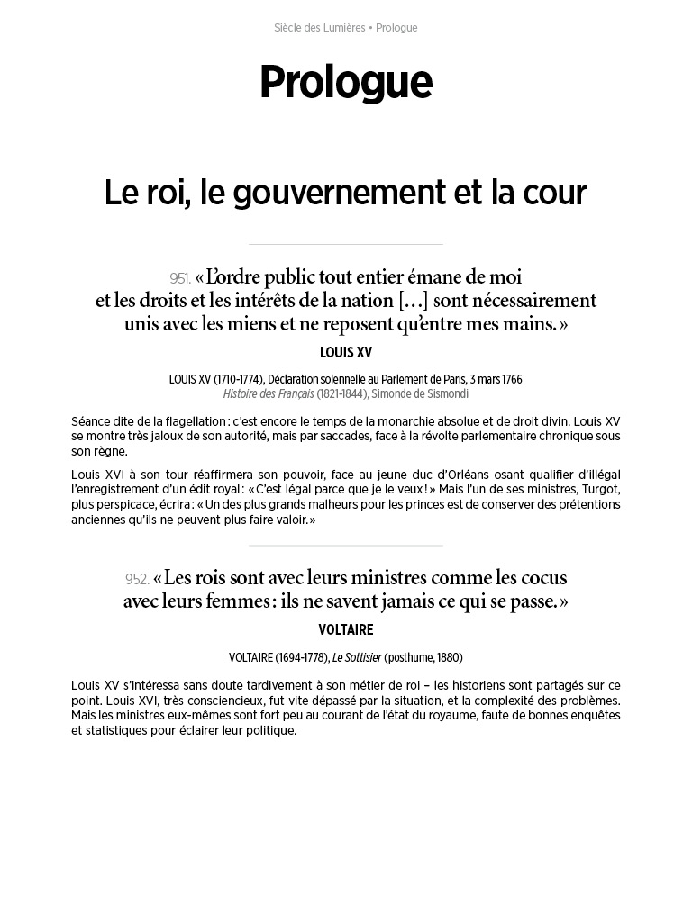L'Histoire en citations - volume 4 - 5/20