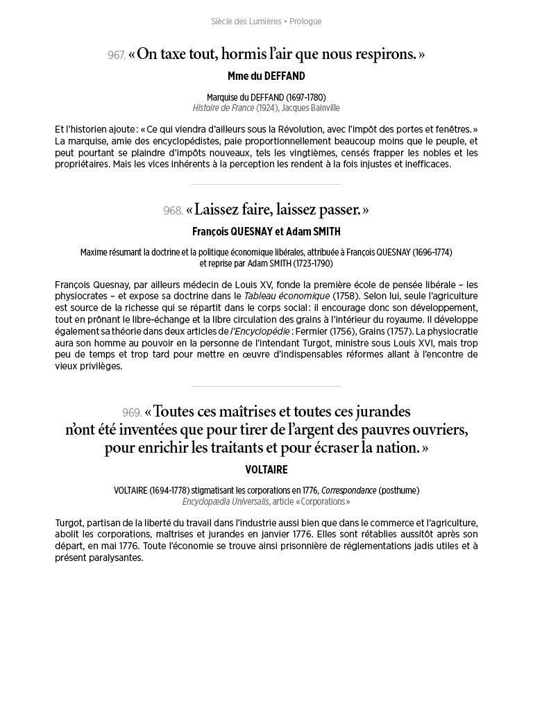 L'Histoire en citations - volume 4 - 10/20