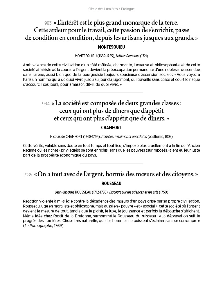 L'Histoire en citations - volume 4 - 16/20