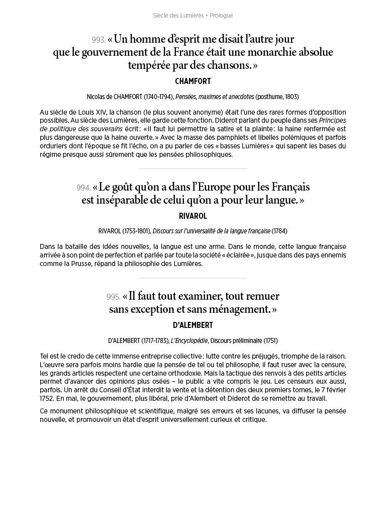 L'Histoire en citations - volume 4 - 19/20