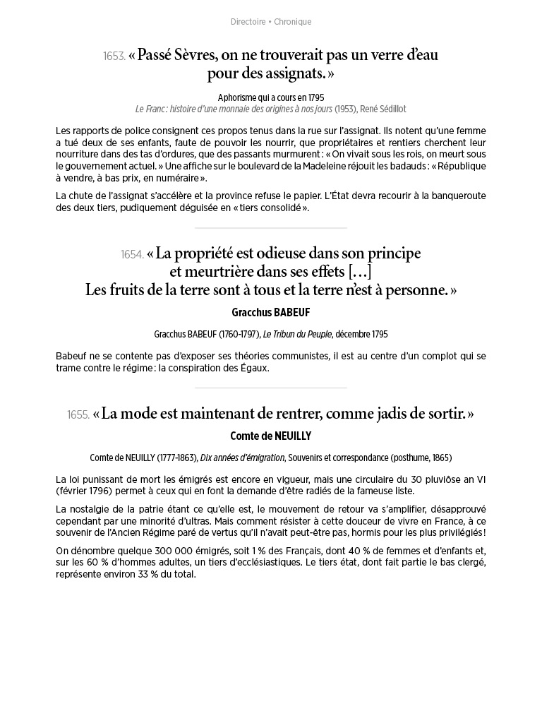 L'Histoire en citations - volume 6 - 10/20