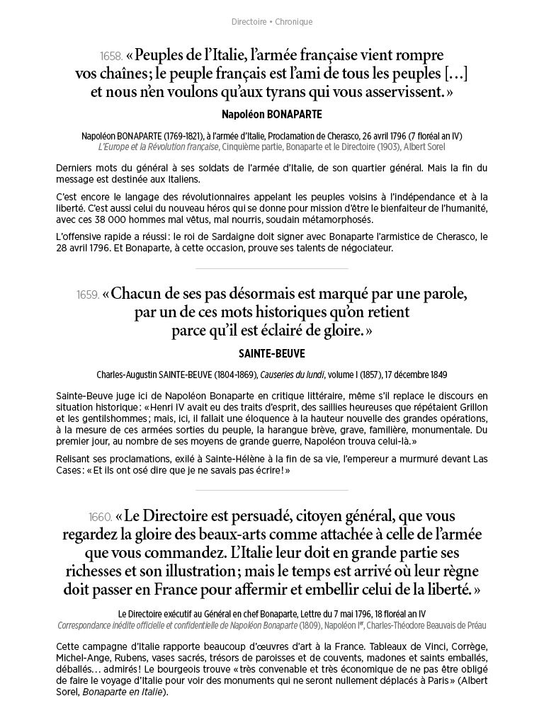 L'Histoire en citations - volume 6 - 12/20