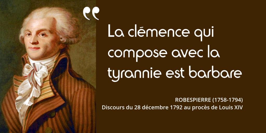 Saint,Just  « Tout le monde veut bien de la République ; personne ne veut  de la pauvreté ni de la vertu. »