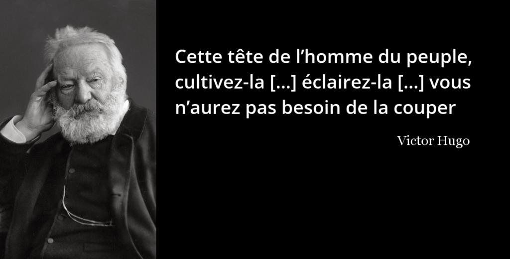 Hugo L Histoire En Citations