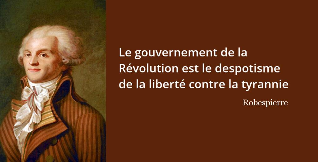 Robespierre L Histoire En Citations
