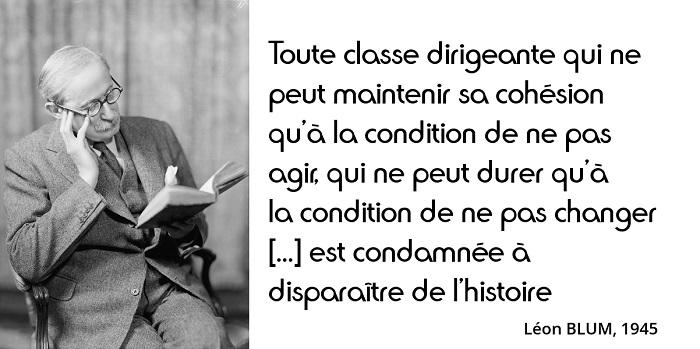 Léon Blum citation