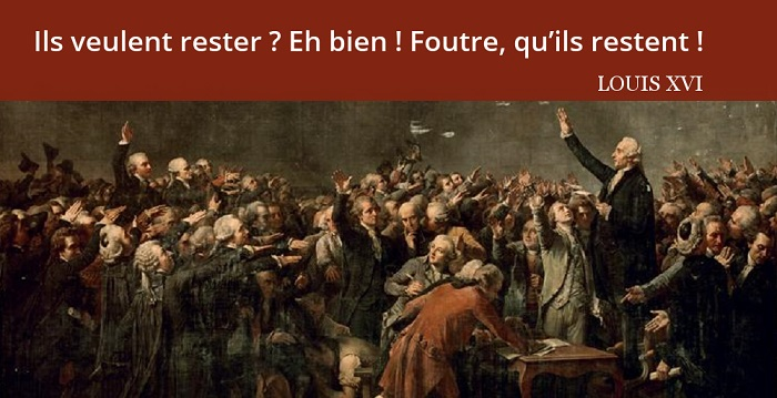citation Louis XVI révolution