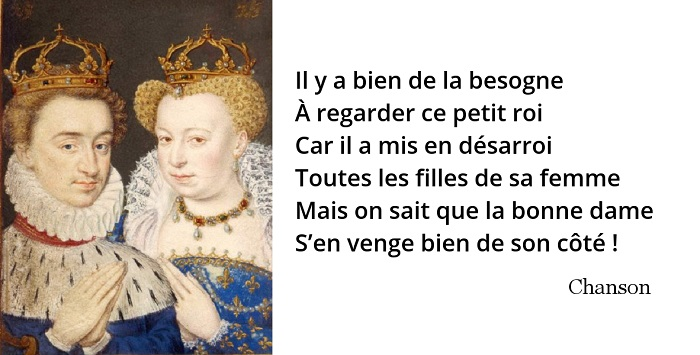citation margot chanson henri iv