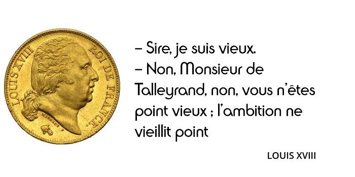 Louis XVIII Talleyrand