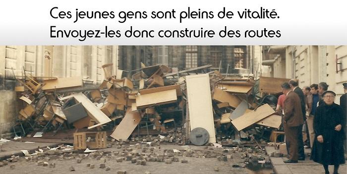 De Gaulle Mai 68 citation