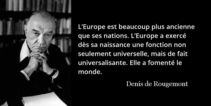 Denis de Rougemont citation