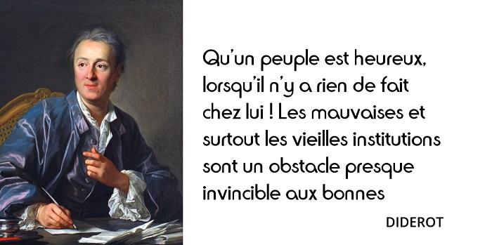 Denis Diderot citation