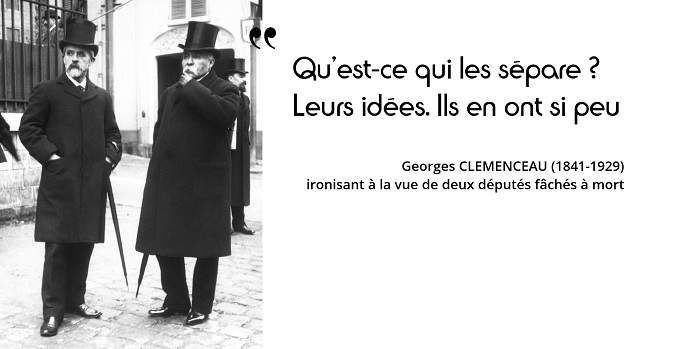 Georges Clemenceau citation
