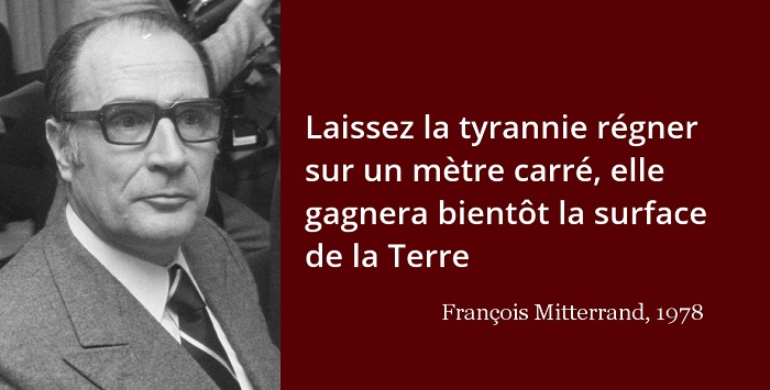François Mitterrand citation