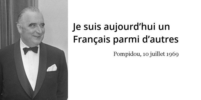 Georges Pompidou citation