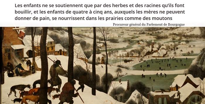 citation grand hiver 1709