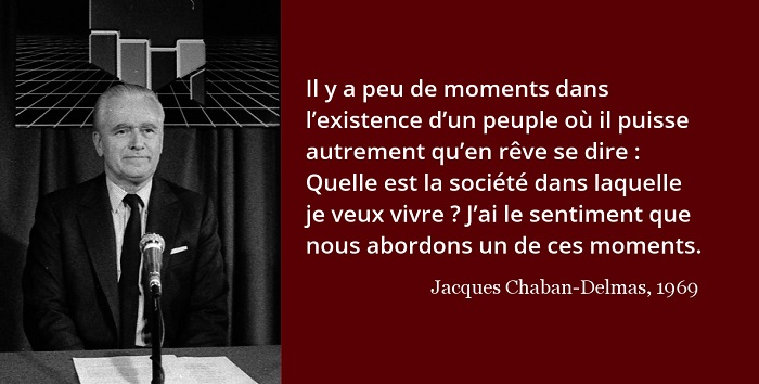 Jacques Chaban-Delmas citation