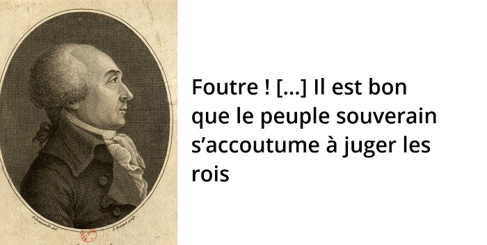 Jacques Hébert citation révolution