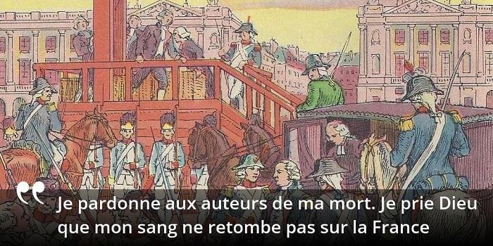 Louis XVI citation