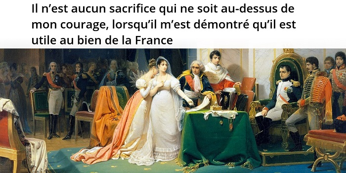 Napoléon citation divorce