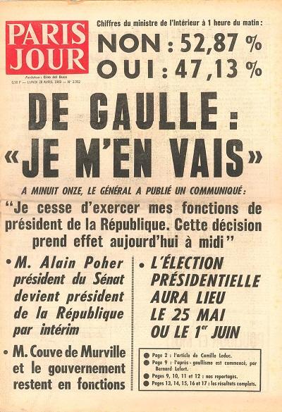 De Gaulle : le président au pouvoir   L'Histoire en citations