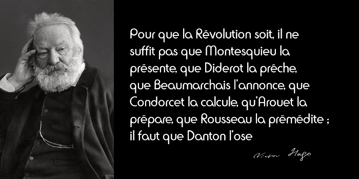 Victor Hugo citation Révolution
