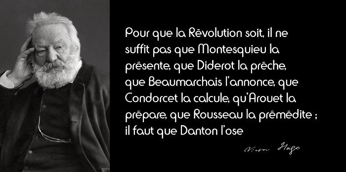 Victor Hugo citation Révolution