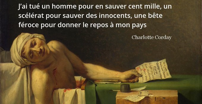 Charlotte Corday citation