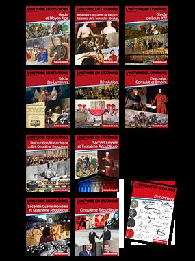 Collection complète de L'Histoire en citations