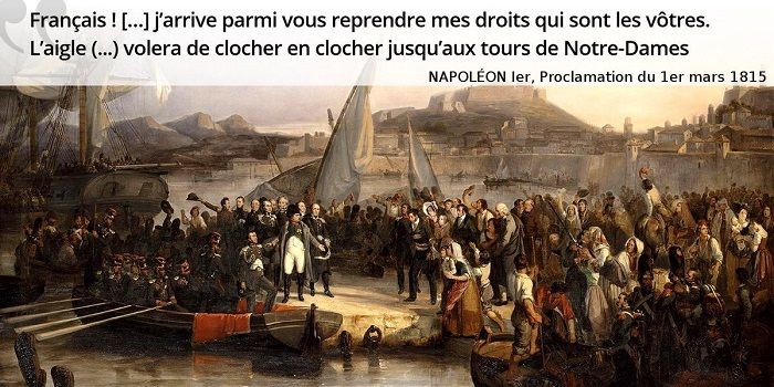 Napoléon citation cent jours