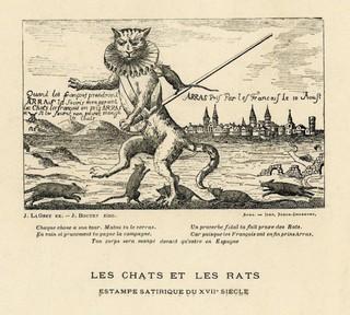 « Quand les Français prendront Arras, Les souris mangeront les chats. »