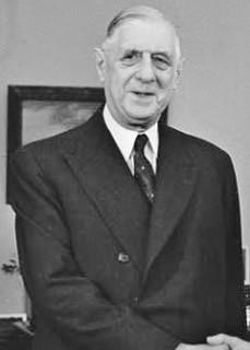 De Gaulle : « Notre Constitution est à la fois parlementaire et présidentielle... »