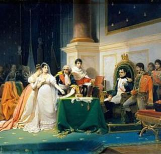 Napoléon : « Il n'est aucun sacrifice qui ne soit au-dessus de mon courage, lorsqu'il m'est démontré qu'il est utile au bien de la France. »