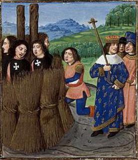 Cris des Templiers Les corps sont au roi de France, mais les âmes sont à Dieu