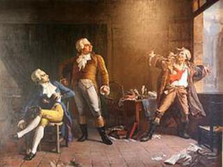 Maximilien Robespierre Celui qui a des culottes dorées est l'ennemi de tous les sans-culottes