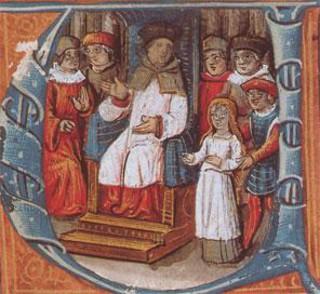 « Jeanne, croyez-vous être en état de grâce ?... » Jeanne d'Arc