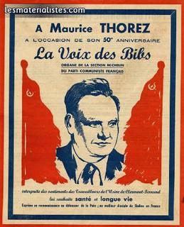 Maurice Thorez Il faut savoir terminer une grève