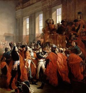 Napoléon Bonaparte : « Souvenez-vous que je marche accompagné du dieu de la guerre et du dieu de la fortune. »