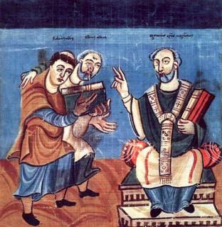 Éginhard : « Passionné pour la science, [Charlemagne]... »