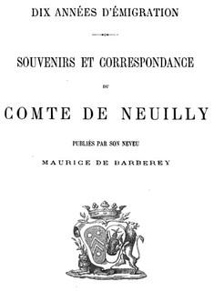 Comte de Neuilly : « La mode est maintenant de rentrer, comme jadis de sortir. »