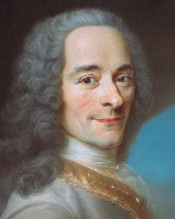 Voltaire : « Me voici donc en ce lieu de détresse, Embastillé, logé fort à l'étroit... »