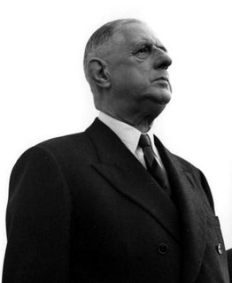 De Gaulle : « Le régime des partis, c'est la pagaille. »