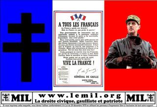 De Gaulle : « La France a perdu une bataille ! Mais la France n'a pas perdu la guerre ! »
