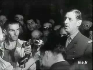 De Gaulle : « En 1944, les Français étaient malheureux, maintenant ils sont mécontents. C'est un progrès. »
