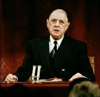de Gaulle Les Juifs un peuple d'élite, sûr de lui-même et dominateur