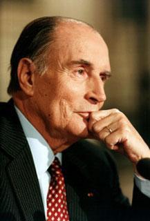 Mitterrand Les termes modernisation, entreprise, innovation et la suite seraient de droite
