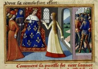 Jeanne d'Arc : « Dieu Messire me fraiera la voie jusqu'au gentil Dauphin. »