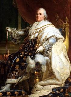 Louis XVIII : « Vous vous plaignez d'un roi sans jambes, vous verrez ce que c'est qu'un roi sans tête. »