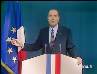 Mitterrand : « La France est notre patrie, l'Europe est notre avenir. »